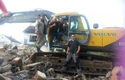 Abbruch Einfamilienhaus in Egelsbach – mit dem ZDF
